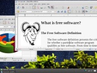 Foto ekrani nga GNU-ja