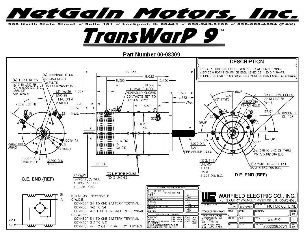 Ev Motor