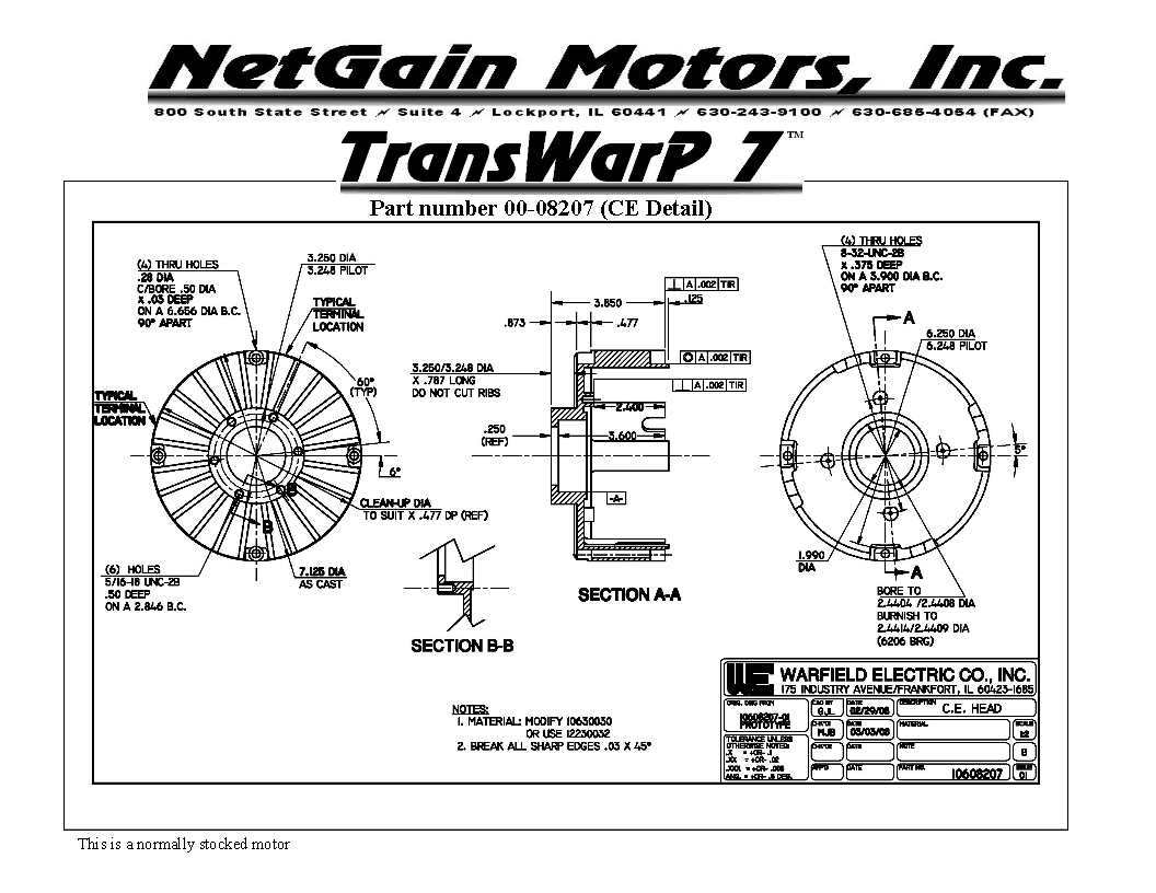 Netgain Motors Inc Image Gallery