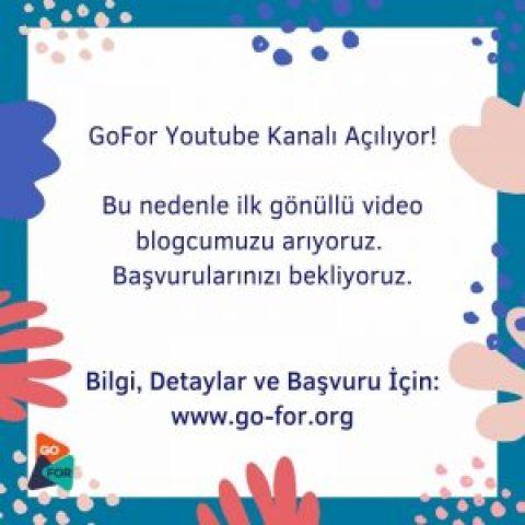 Go-For Vlogger Arıyor !