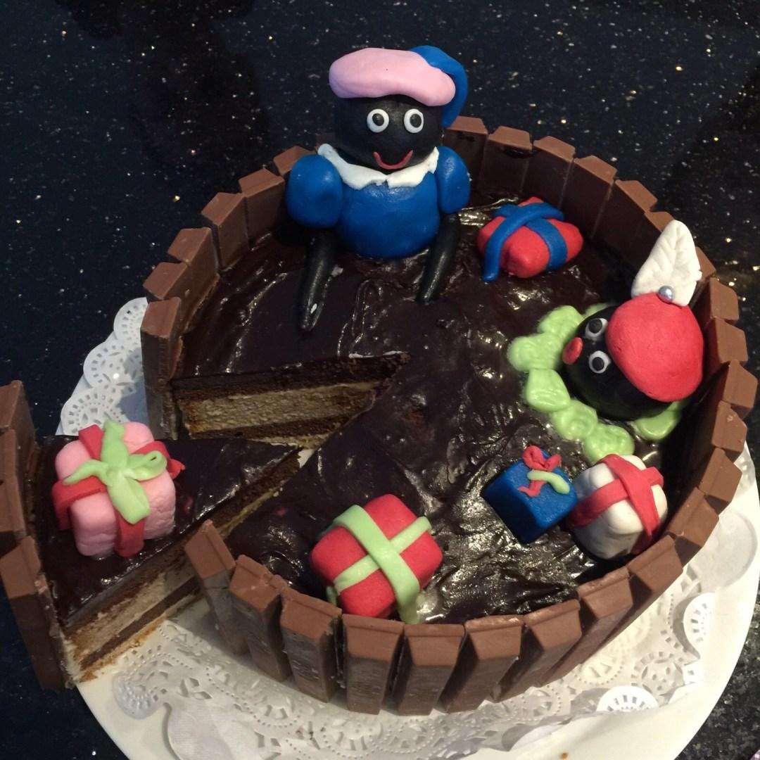 Sinterklaas hapjes lekkernijen kitkat taart