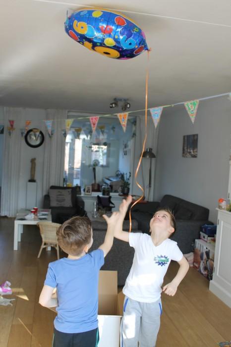 Heliumballon kaartenwereld review
