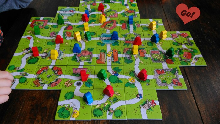 Review en spelregels van Carcassonne Junior