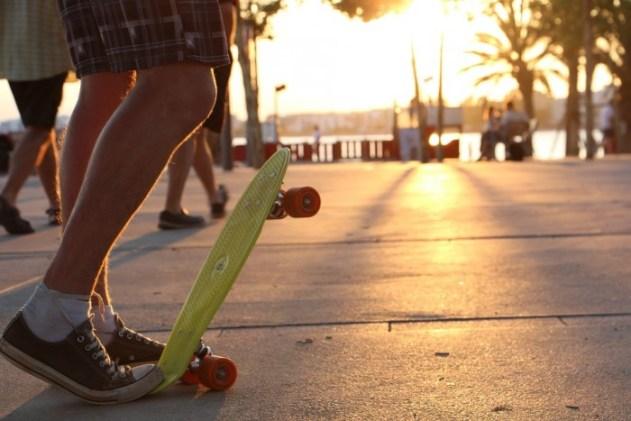 skateboard kinderen