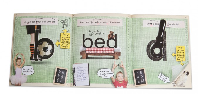Leren lezen b en d
