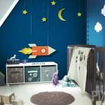 De kinderslaapkamer behangen of verven?