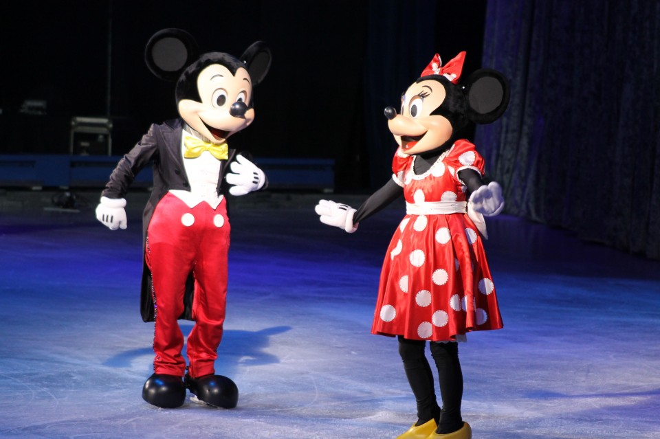 Disney on ice ervaringen mickey minnie