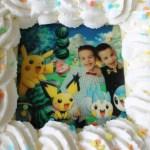 Een Pokémon slagroomtaart maakte het kinderfeest compleet!