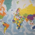 { Review } | Wereldkaart op hout van Wereldkaarten.nl