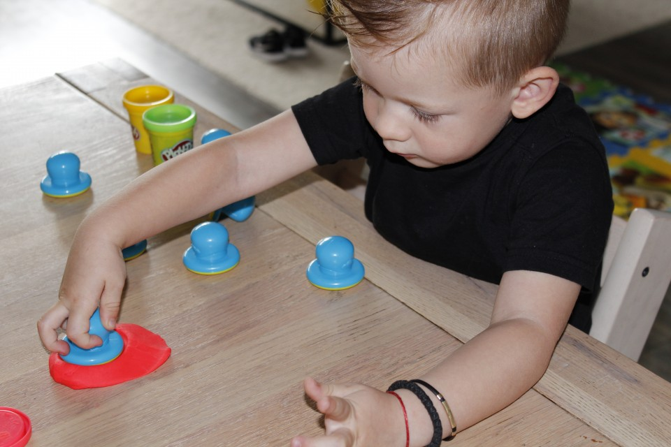 play-doh letters cijfers