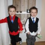 Een kinderstropdas en bretels voor de Feestdagen + WIN