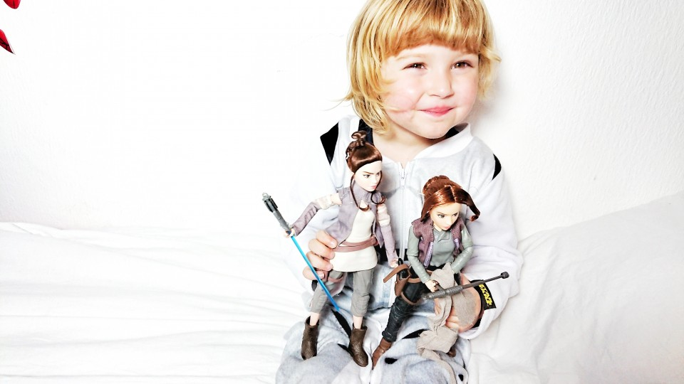 Star Wars meiden poppen voor kinderen