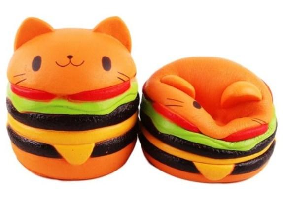 squishies hamburgers