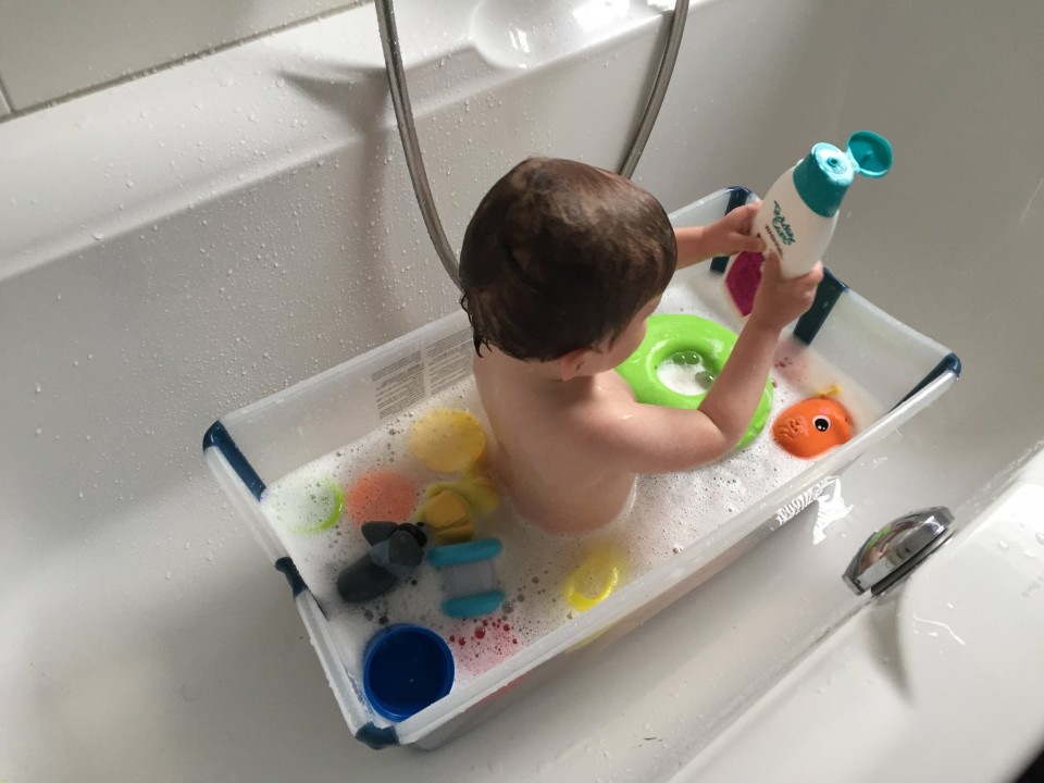 { Review } | Stokke Flexi Bath: een opvouwbaar bad
