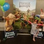 Wij gingen naar de grote première van Pieter Konijn!