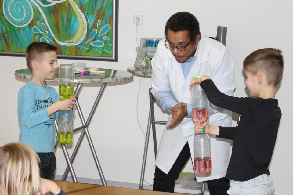 Mad Science kinderfeest proefjes ervaringen
