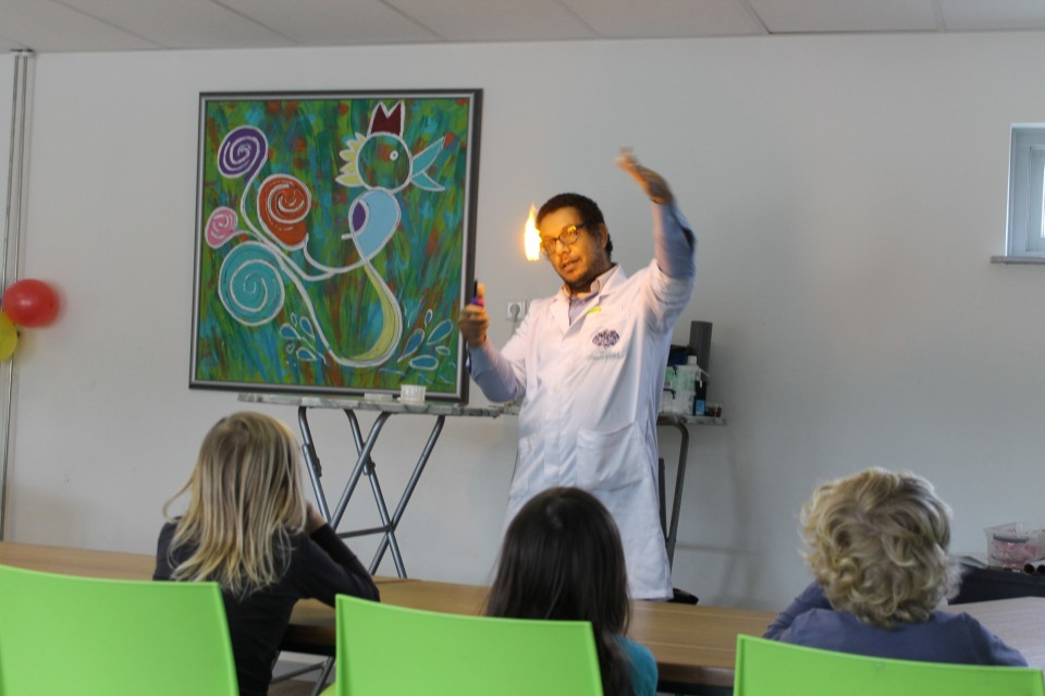 Mad Science kinderfeest review