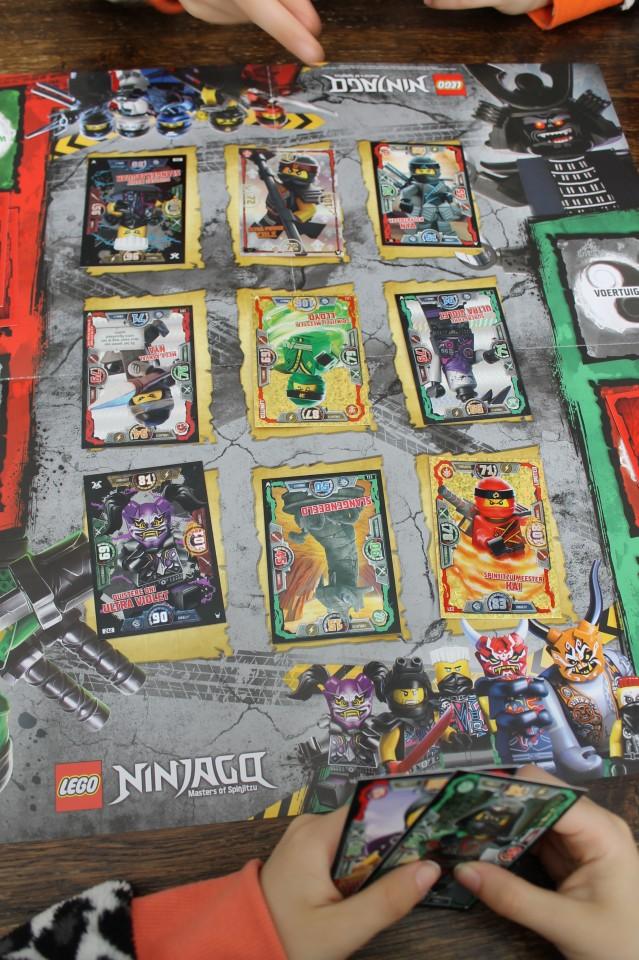 arena lego ninjago ruilkaartenspel