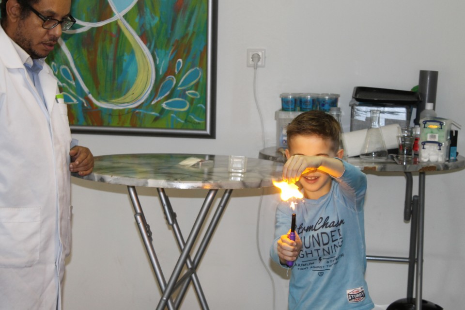 Mad Science kinderfeest ervaringen
