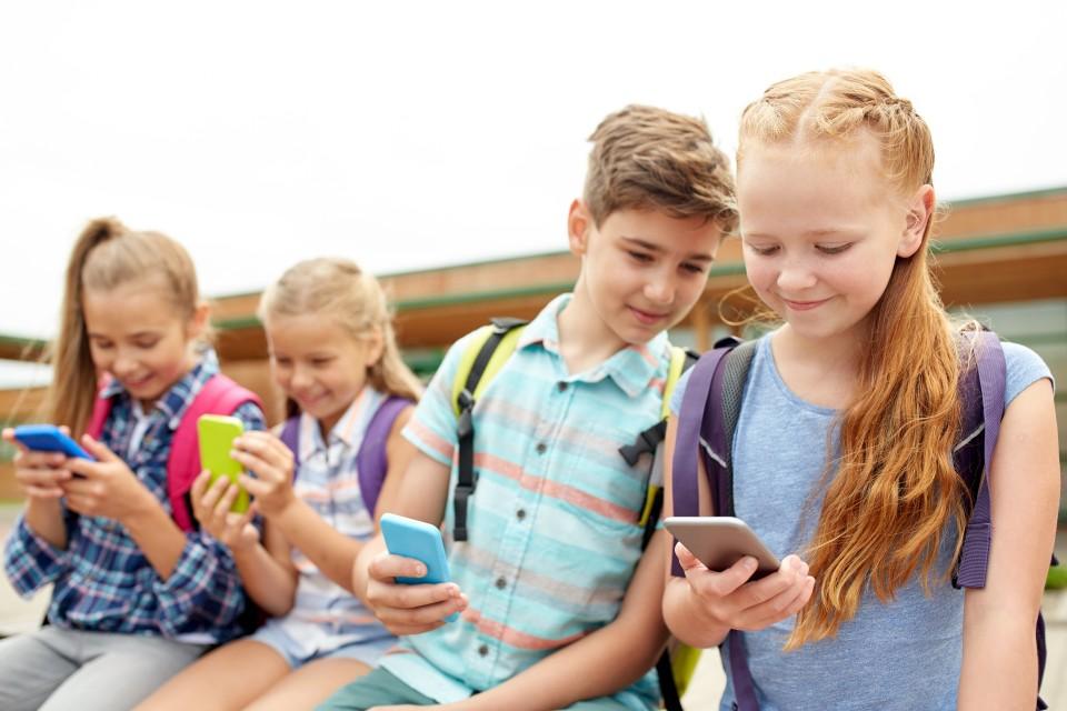 telefoongebruik kinderen smartphonegebruik