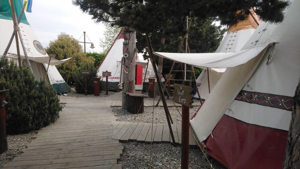 europa-park tipi tent ervaring