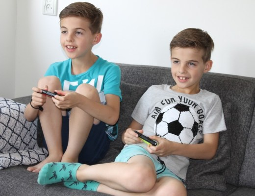 Nintendo switch 8 jarige gamen
