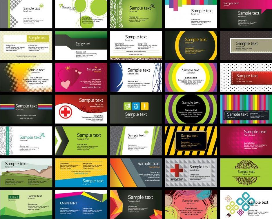 Creatief met visitekaartjes