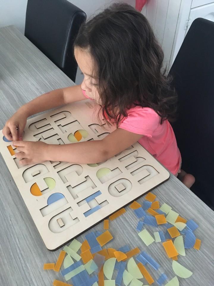 puzzel letters alfabet
