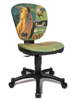 bureaustoel paard