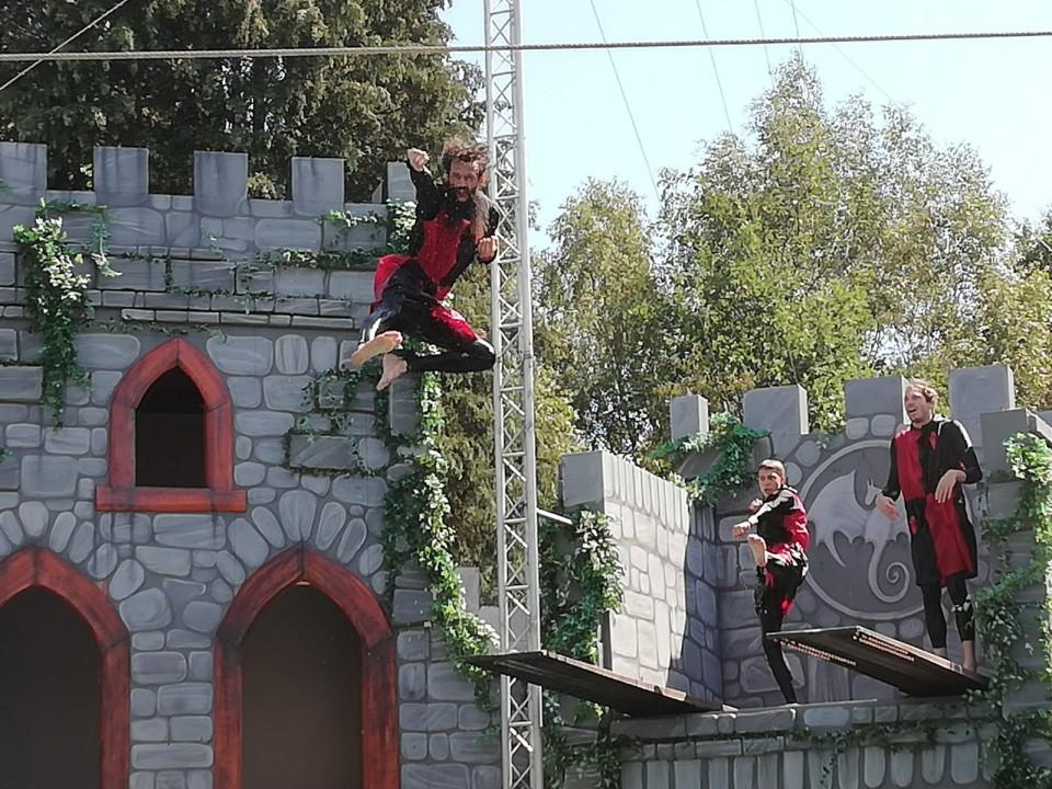 Stuntshow De Drakenridders