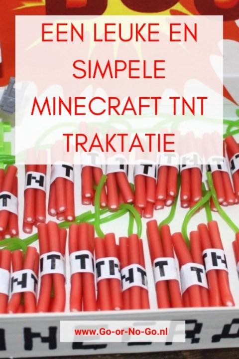 How to: Een super leuke en simpele Minecraft TNT traktatie