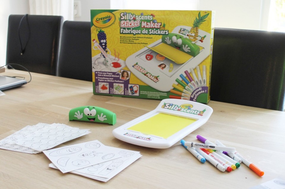 zelf geurstickers maken Silly Scents Sticker Maker