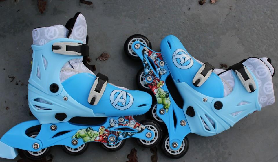 Marvel Avengers skates