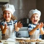 Koken met kinderen: drie belangrijke stappen