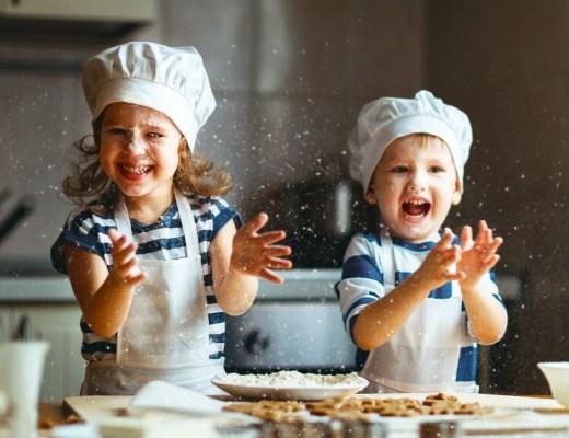 koken met kinderen kookgerei
