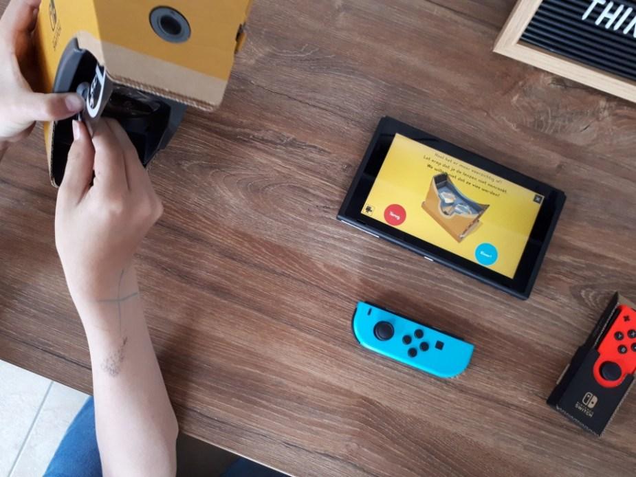 Nintendo Labo VR-pakket 6 jaar kind
