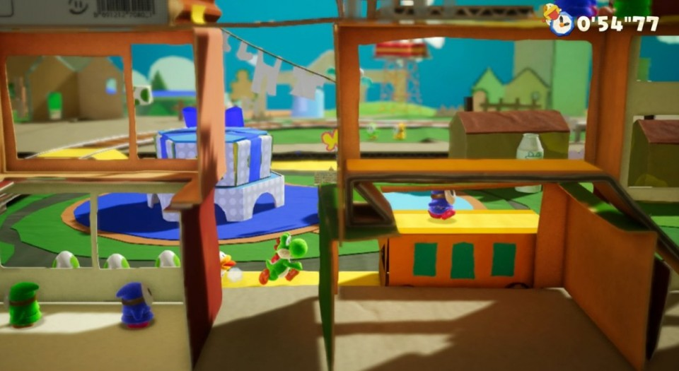 Yoshi`s Crafted World