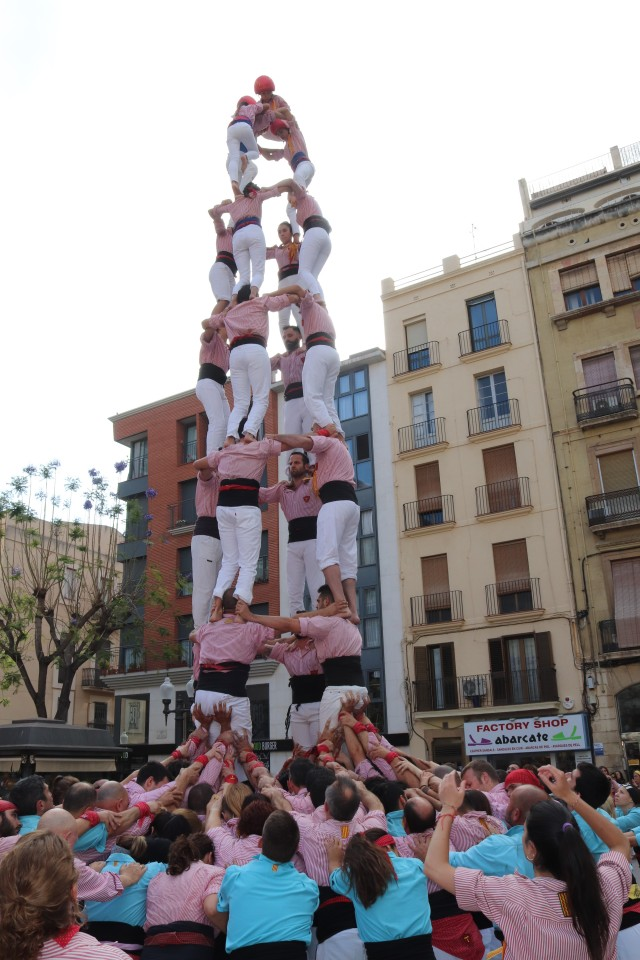 Human towers in Tarragona Costa Daurada bezienswaardigheden