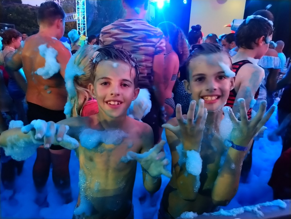schuimparty camping le pommier review 2019