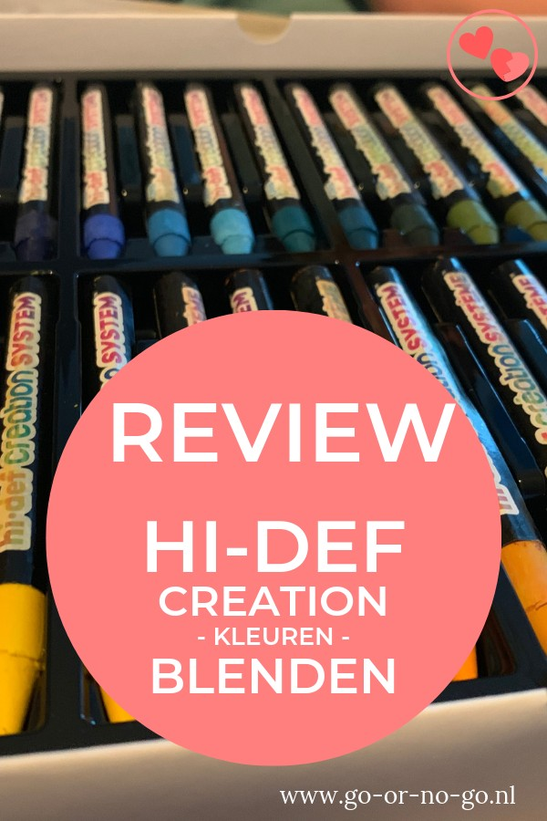 HI-DEF Creation kleuren bleden krijt