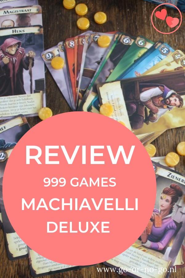 Machiavelli Deluxe versie van 999 Games