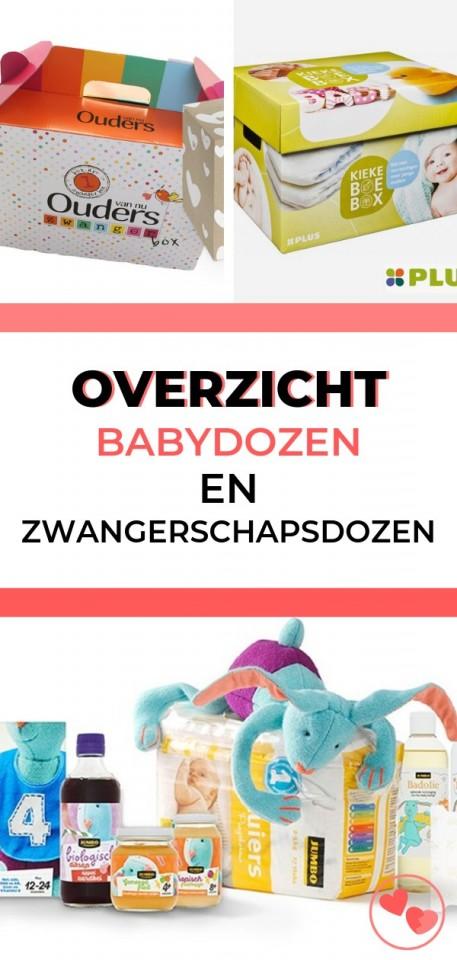 Ben je zwanger of net bevallen? Hier vind je een compleet overzicht van alle baby- en zwangerschapsdozen die je kunt aanvragen of ophalen.
