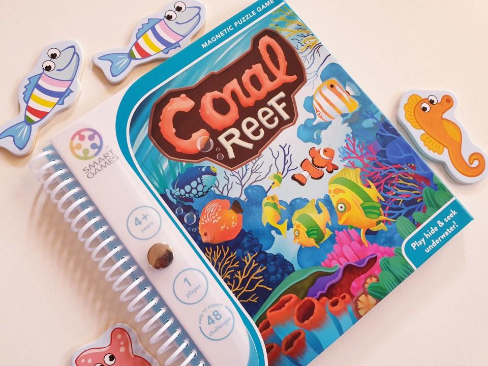 { Review } | Coral Reef van SmartGames spel voor 1 persoon