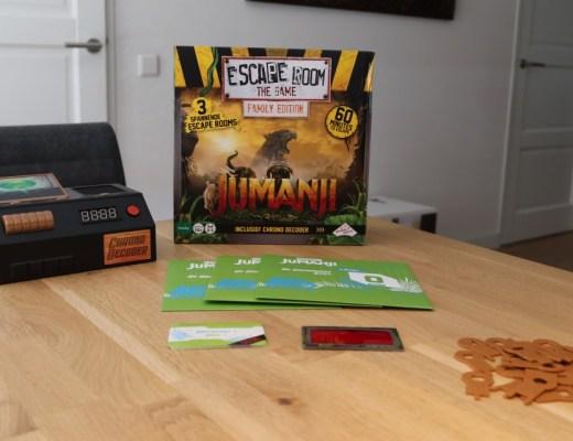 Review escape room the game jumanji