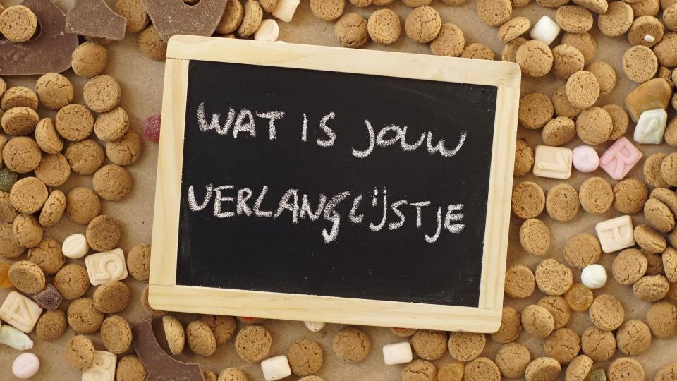 Sinterklaas verlanglijstje Knutsel een origineel verlanglijstje voor Sinterklaas