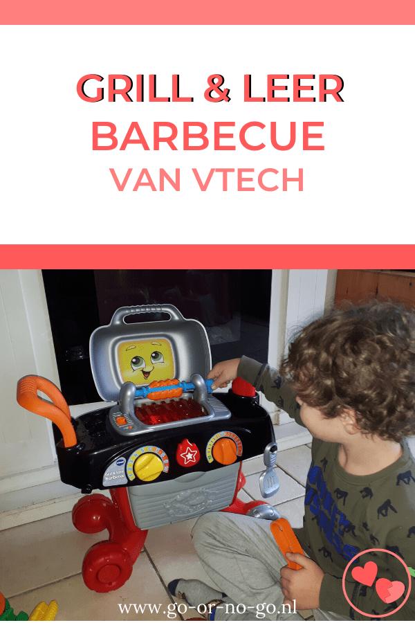 De super leuke Grill en Leer Barbecue van VTech is echt een aanrader voor kinderen tussen de 2 en 5 jaar. Vol muziekjes, accessoires en zelfs leerzaam!