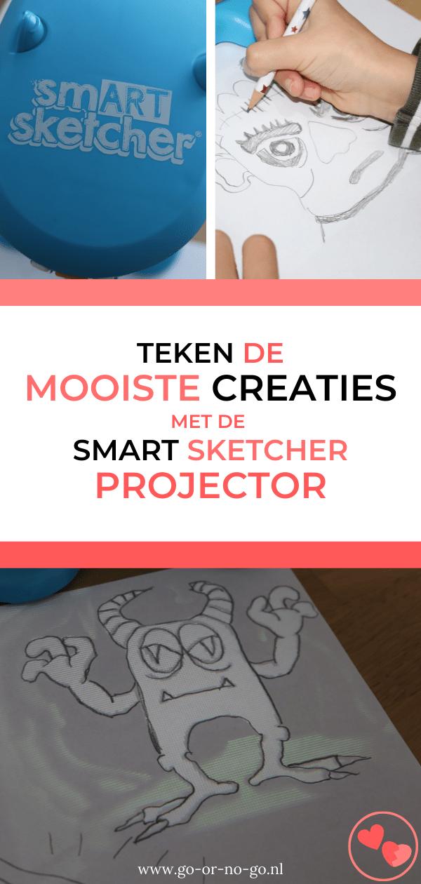 Review - Met de Smart Sketcher Projector teken je met het grootste gemak moeilijke of minder lastige tekeningen. Kinderen leren stap voor stap tekenen.