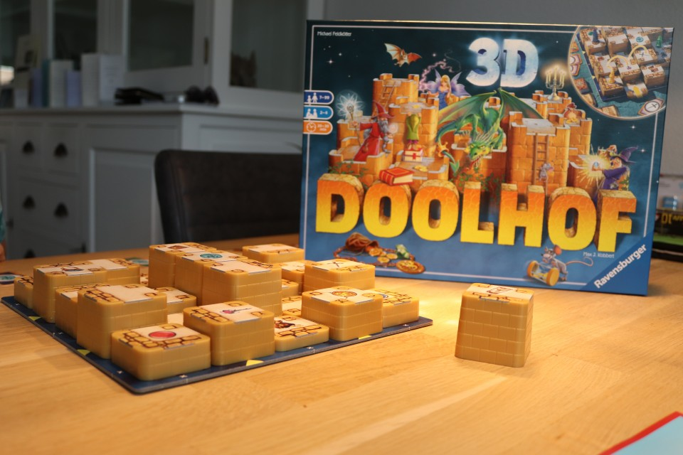 review Doolhof 3D van Ravensburger