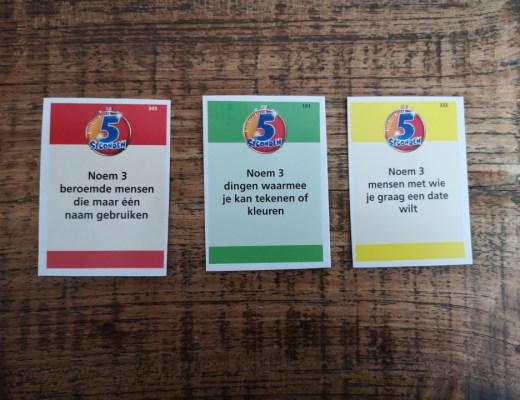 { Review} | Spel 5 seconden, inclusief junior vragen