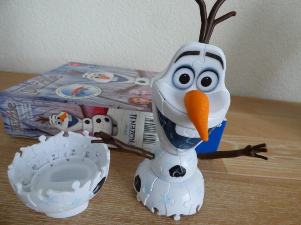 review 3D puzzel L.O.L. Surprise & Frozen II 3D puzzel